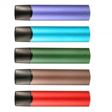 Disposable Electronic Cigarette Vape Pod 0.5ml Ceramic Coil Flat Cbd Pen